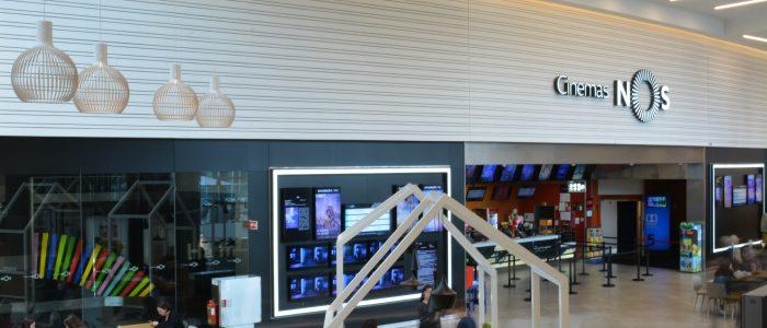 Nova fachada do cinema